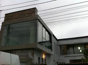 fatada din sticla -glisari Al -balustrada (3)